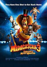 Madagascar movie poster : 11 x 17 inches Madagascar 3 poster