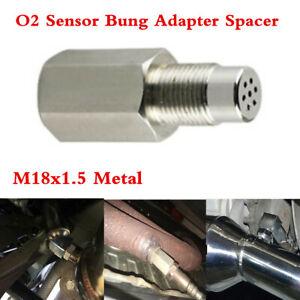 Metal O2 Lambda Oxygen Sensor Bung Adapter Spacer For Car Engine Light Check Fix