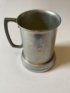 "Vintage Playboy Club Glass Bottom Beer Mug 5"""