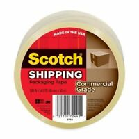 """Scotch 3750 Commercial grade Packaging Tape 1.88"""" Width X 54.60 Yd Length -"""