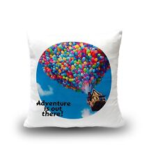 Adventure Is Out There Up Russell Carl Fredrick Balloons House Cute Pillow Cover