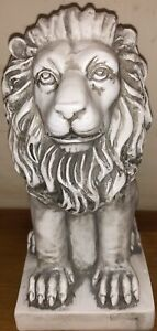 Latex mould for making this Stunning Sitting Lion Statue