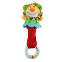 Fuuny Animal Handbell  Kids Musical Developmental Toy Bed Bells Baby Soft Toys
