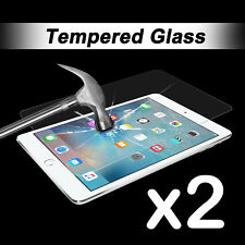 2x Scratch Resist Tempered Glass Screen Protector for Apple iPad Mini 1 2 3