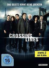CROSSING LINES - COMPLETE SEASON 2   -  DVD - PAL Region 2 - New