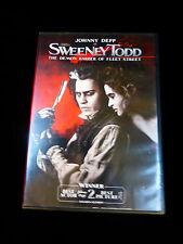 SWEENEY TODD DVD Johnny DEPP, Helena BONHAM CARTER, Alan RICKMAN