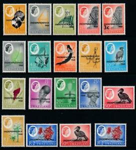 Swaziland 1968 SG 142-160 MNH cat. £30