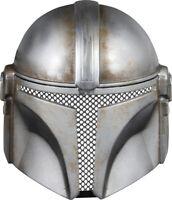 The Mandalorian 1/2 Mask Star Wars TV Din Djarin Mando Costume Disney+ Gift