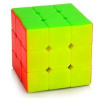 Colorful Cyclone Boys Magic Stickerless 3x3x3 Speed cube Puzzle Twist Toys Cube