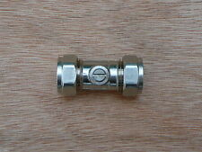 15mm Chrome Plated Isolating Service iso ballofix ballfix ball fix valve CP x 1