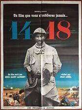 Affiche 14-18 Documentaire JEAN AUREL Guerre WWI Soldats Poilus 60x80cm *