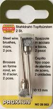 Proxxon micromot Alambre De Acero 13mm Cepillos 28953 202354 / directos de rdgtools