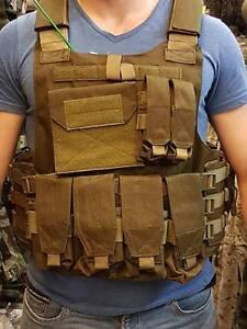 Gilet de combat CARRIER FULL SET defcon 5 militaire armée professionnel