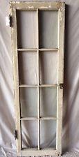 Individual Antique Cabinet Pantry Cupboard Casement Door Window 8 Lite 1816-16