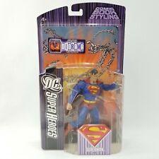 NOS DC Universe SuperHeroes S3 Select Sculpt Series Superman Action Figure