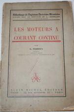 Moteurs à Courant Continu,Georges FERROUX,Illustré