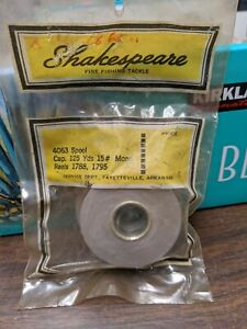 NEW SHAKESPEARE SPINNING REEL PART - 4063 MDL 1788 1795 - Spool Assembly