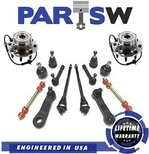 14 Pc Suspension Kit for Chevrolet GMC Ball Joints Tie Rod Ends Sway Bar Links