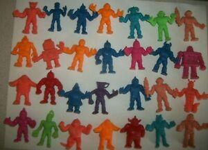 Vintage Mattel M.U.S.C.L.E. Action Figures Muscle Men Lot of 28 Kinnikuman