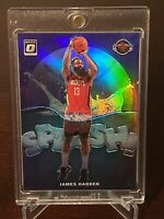 2019 - 2020 Optic James Harden Silver Holo Purple Prizm Splash SP No. 1 Rockets