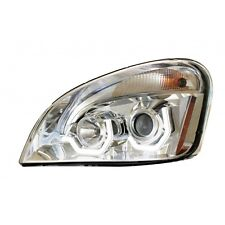 FREIGHTLINER CASCADIA PROJECTION HEADLAMP (CHROME) Drivers Side Only
