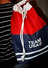 Team USA 2016 Olympic Games canvas backpack / shoulder bag NWT carry-on lot of 2