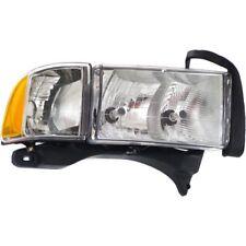Headlight For 99-2001 Dodge Ram 1500 Sport Passenger Side w/ bulb