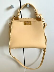 Charles and Keith Pastel Yellow Bag - NEW