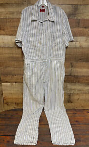 Vintage Dickies Jumpsuit Coveralls Mens 44 Long Mechanic Farm Work Trucker