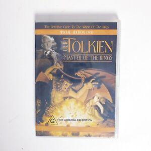 JRR Tolkien Master of the Rings Movie DVD Region 4 AUS Free Postage
