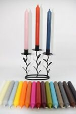 6  Dinner Candles 21mm x 170mm Non-Drip GREY