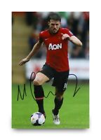 Michael Carrick Signed 6x4 Photo Manchester United Autograph Memorabilia + COA