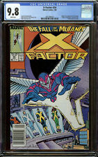 X-Factor #24 Newsstand Copy CGC 9.8 White Pages - 1st Appearance of Archangel