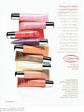 PUBLICITE ADVERTISING  046  2006  les cosmétiques  Baumes couleur de Clarins