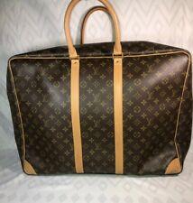 Louis Vuitton AUTH Monogram LV Brown M41404 Sirius 55 Suitcase Travel Bag SP1000