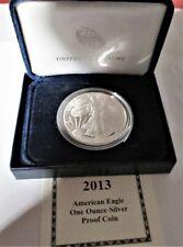 2013 U.S. American  Eagle One oz.Silver Dollar U.S. Mint Boxed Proof