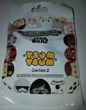 Disney Pins Tsum Tsum Star Wars Series 2 Mystery 5 Pin Pack SEALED FREE SHIPPING