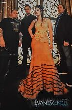 EVANESCENCE - A3 Poster (42 x 28 cm) - Amy Lee Clippings Fan Sammlung NEU