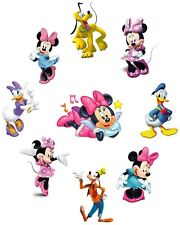 MINNIE  MICKEY MOUSE DAISY DONALD DISNEY STICKER WALL DECO DECAL