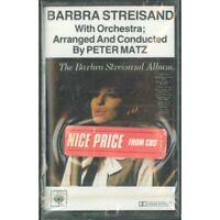 Barbra Streisand, Peter Matz MC7 The Album / CBS 40-32010 Sealed