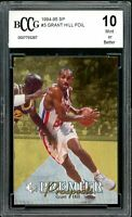 1994-95 SP #1 Grant Hill Rookie Card BGS BCCG 10 Mint+