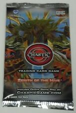 6x Chaotic Trading Card Game TCG Zenith Of The Hive Booster Packs