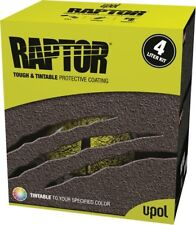RAPTOR Touch and Protective Bed Liner Kit, Tintable 2.6 VOC, 8lbs UPL-UP0821V