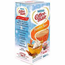 Coffee mate Pumpkin Spice Limited Edition Coffee Creamer 50-0.375 fl. oz. Tubs