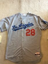 Authentic Los Angeles Dodgers Jamey Wright TEAM ISSUED Away JERSEY 2014