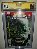 Avengers #684 CGC SS 9.8 signed by Mark Brooks 1st appearance of Immortal Hulk