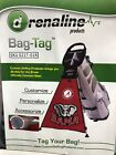 Adrenaline Products Bag Tag NCAA Golf Bag Accessory Select Your Team NEW