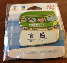 Whistler Mascots on Bus Vancouver 2010 Olympic Pin