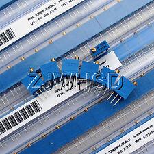 (100Ω - 500KΩ) 60pcs 12value 3296 W Potentiometer Assorted Kit Variable Resistor