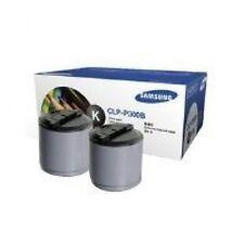 Box of 2 GENUINE SAMSUNG CLP300 CLX2160n CLX3160fn Printer BLACK TONER CLP-P300B